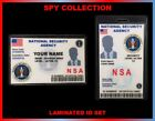 NSA...National Security Agency...   SPY  ID COLLECTOR CARD