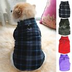 Small Pet Dog Winter Warm Coat Puppy Sweater Doggy Apparel Fleece Vest Jacket