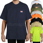 Ben Davis T shirt Mens Short Sleeve Classic Pocket Heavy Weight Duty Cotton Tee image