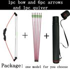 Archery Children 12lbs Compound Bow with 6 Arrows Quiver Kit Toy Hunting Outdoor