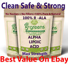 Alpha Lipoic Acid 400mg Capsules 99% ALA Strongest Extract 100% Natural