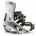 FLUX snowboarding  XF Sizes S WHITE color Brand New Snowboard Bindings