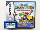 Super Mario World Advance 2 - Custom Case + Cart Nintendo Game Boy Advance GBA