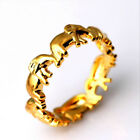 Women Girls Fashion European and American Style Ring Elephant Ring Jewelry LH
