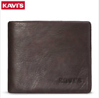 Men Genuine Leather Cowhide Bifold Wallet Credit Card ID Coin Holder Purse New