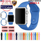 Sport Silicon Watch Band Strap for Apple Watch iWatch Series 4 3 40mm 44mm 42mm image