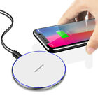 10W Fast Qi Wireless Charger Charging Dock Mat Pad For iPhone XS X Samsung S9 S8