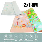 200x180cm Baby Crawling Thick Play Mat Game Rug Children Carpet Floorcover Mat
