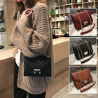 Small Mini Faux Leather Single Shoulder Bag Crossbody Chain Purse Cute Handbag