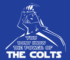 Darth Vader Indianapolis Colts shirt Star Wars Phillip Rivers Hilton football $22.00 USD on eBay