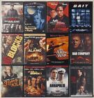 Crime/Action/Thriller dvds $2.49 ea! Shipping $1.99 on the first, FREE ea. addit