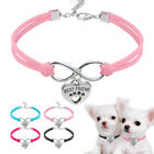 Soft Suede Leaher Small Dog Cat Collars  Pendant for Pet Puppy Chihuahua Yorkie