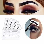 Ladies Eyebrow Stencil Ruler Shaper with 3 Razors for Beauty Styling Tool Kit