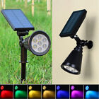 Solar Power Garden Lamp 7 LED Spot Light Outdoor Lawn Landscape Spotlight Lamps