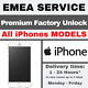 EMEA Service iPhone Premium Factory Unlocking Service (All Models Supported)