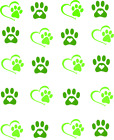 Dog Paws & Hearts Waterslide /Water Transfer Nail Decals/Nail Art
