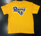 Los Angeles Rams Alt T-Shirt Graphic Cotton Logo LA Adult Men Alternate