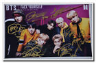 Signed BTS Bangtan Boys SUGA JHope Jimin JungKook ALL7 Autograph Face Yourself