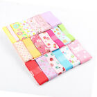 20Yds(1Yd/style) Printed Mixed Grosgrain Rinbon DIY  Hair Accessories Materials
