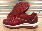 Nike Air Max 98 SE Running Shoes Team Gym Red White Habanero SZ ( AO9380-600 )