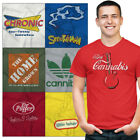 Stoner Tee Shirt Graphic Pot T-Shirt For Mens Womens Marijuana Gift TShirts T image