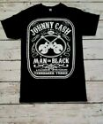 NEW - JOHNNY CASH - MAN IN BLACK -  BAND T-SHIRT  image
