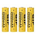 1/4/10Pcs 18650 1600-12000mAh Rechargeable Battery For Flashlight Torch LED Toy