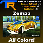 [XBOX ONE] Rocket League Every Painted CC4/PCC Exotic Zomba Wheels (Crimson...)