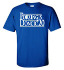 "Kristaps Porzingis Luka Doncic Dallas Mavericks ""2020"" T-Shirt on eBay"