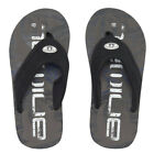 Animal NEW Jekyl Logo Boys Flip Flops Cast Iron Grey BNWT