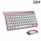 Keyboard Mouse Set USB Optical Wireless Ultra-Thin Keyboard For HP Dell Lenovo