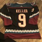 9 Clayon Keller Arizona Coyotes Kachina Jersey Adult Small