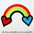 Rainbow Retro Sign Symbol Cute Old School DIY Kids Clothing Jeans Iron on patch