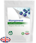 Strong Manganese 14mg - 30/60/90/120/180 Tablets (V) - Blood, Bones Health - UK £4.99 GBP on eBay