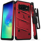 Samsung Galaxy S10 / S10 Plus / S10e Case, Zizo Bolt Series with Holster