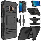 For Samsung Galaxy J2 Shine/Pure/Core/Dash Case Hybrid Stand Holster Hard Cover
