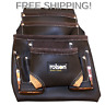 More images of Rolson 68883 Single Oil Tanned Tool Pouch 1 Black
