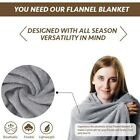 NEW Elegant Comfort Micro-Fleece Ultra Soft Plush Throw Sofa Luxury Blanket Gift