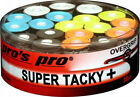 Pro's Pro Super Tacky Plus Overgrip - 0.50 mm - Box of 30 - Tennis Racket Grip