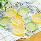 10Pcs Fake Orange Lemon Lime Slice Garnish Fruit Faux Food House Kitchen Decor