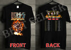 HOT RARE! KISS 2019 'End of the Road' World Tour concert 2 side T-shirt Size Men image