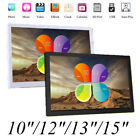 """10/12/13/15""""inch HD LED Digital Photo Picture Frame Movie MP4 Music/Video/Player"""