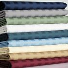 Super Deep Pocket Soft Bed 3 PC Fitted Sheet Set US King Striped Colors image