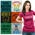 Puppy Parent Tee Shirt Graphic T-Shirt For Men Women Tees Shirts Adoption Tshirt image