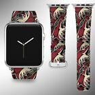 Arizona Coyotes Apple Watch Band 38 40 42 44 mm Series 1 2 3 4 Wrist Strap 1 $29.99 USD on eBay