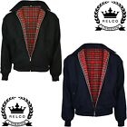 Relco Wool Harrington Jacket Skinhead Mod Scooter Ska Northern Soul Black Navy