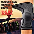 2x Compression Knee Sleeve Brace/Running/Arthritis/Joint Support/Tennis/Copper