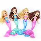 Waterproof Mermaid Doll With Comb Bath Toys Dolls Girl Favors Kids Toy Gifts