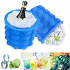 Ice Cube Maker Mold Silicone Ice Bucket Space Saving Ice Cube Tray Kitchen Tool