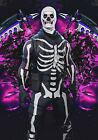 Skull Trooper Fortnite Game Poster - 11x17 - 13x19 - Glossy